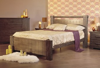 Churchill Wooden Bedframe - 4'6'' Double