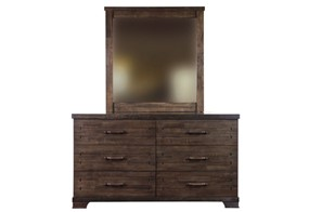 Churchill Six Drawer Chest & Mirror