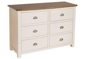 York Six Drawer Chest