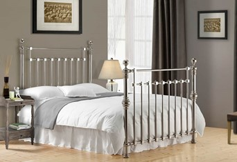 Edward Metal Bedframe - 4'6'' Double