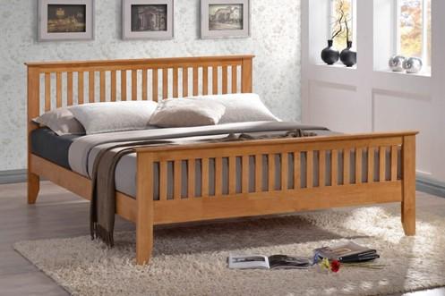 Turin Wooden Bedframe