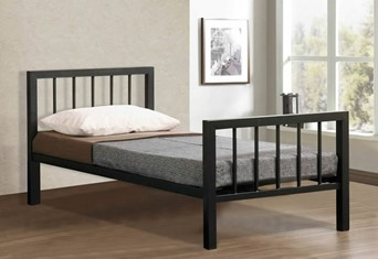 Metro Metal Bedframe - 3'0'' Single