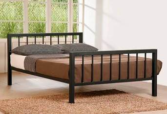 Metro Metal Bedframe - 4'6'' Double