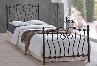 Inova Metal Bedframe - 3'0'' Single Black