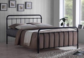 Miami Metal Bedframe - 4'0'' Small Double Black