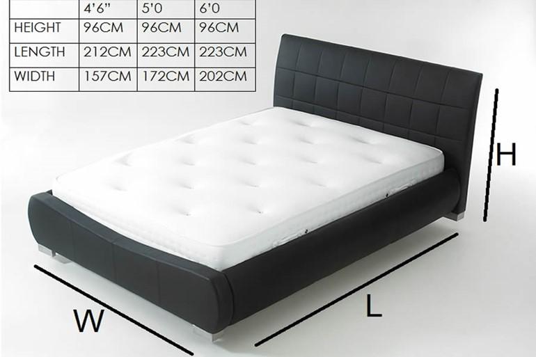 Dorado Leather Bedframe