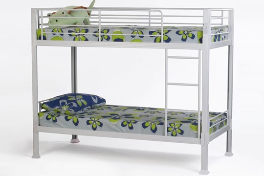 Boltless Metal Bunk Bed