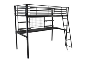 Boltless Metal Study Bunk Bed