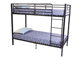 Boltless Metal Split Bunk Bed