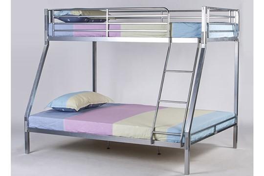 Boltless Metal Triple Bunk Bed