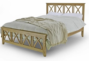 Ashby Solid Oak Bedframe - 4'6'' Double