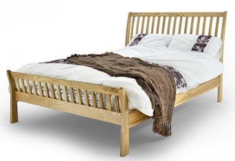 Ashtone Solid Oak Bedframe - 4'6'' Double
