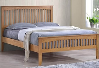 Freya Wooden Bedframe - 4'0'' Small Double Oak