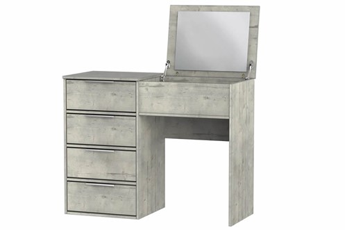 Diego Concrete Vanity Unit With Mirror