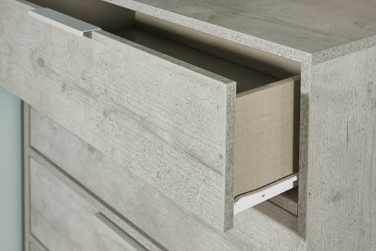 Diego Concrete Vanity Unit With Mirror
