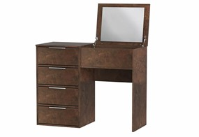 Diego Copper Vanity Unit With Mirror