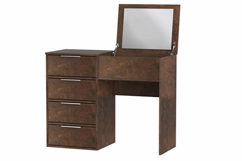 Diego Copper Vanity Unit With Mirror