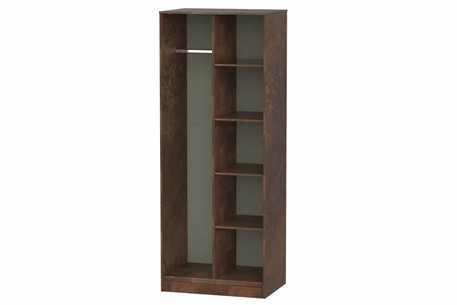 Diego Copper Open Shelf Wardrobe