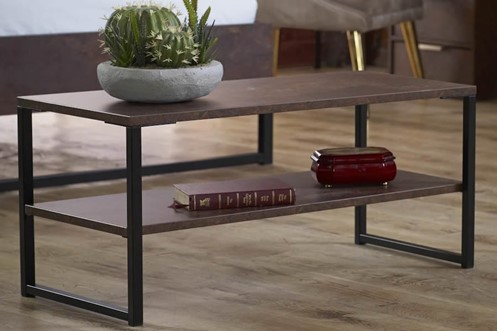 Diego Copper Lamp Table