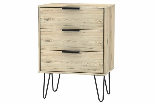 Hong Kong 3 Drawer Mid Chest