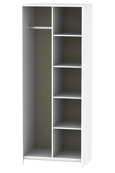 Hong Kong Open Shelf Wardrobe