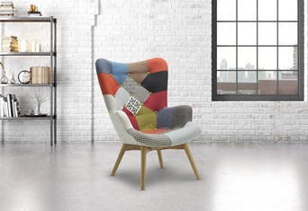 Sloane Armchair - No Stool Required