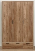 Stockwell 3 Door 2 Drawer Wardrobe