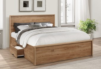 Stockwell Wooden Bedframe - 4'6'' Double