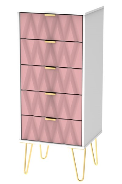 Diamond 5 Drawer Locker