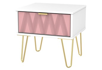Diamond 1 Drawer Locker - Pink