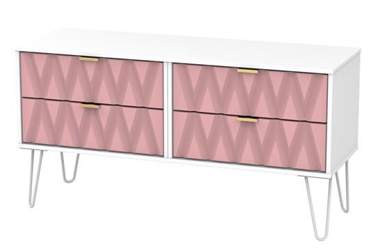 Diamond 4 Drawer Bed Box