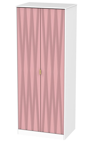 Diamond 2 Door Wardrobe