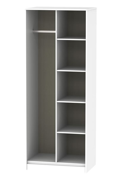 Diamond Open Shelf Wardrobe