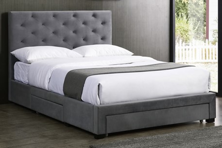 Holst Fabric Storage Bed