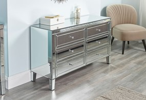 Zoe 6 Drawer Chest