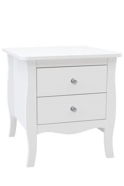 Paris 2 Drawer Bedside