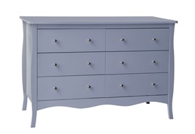 Paris 6 Drawer Chest