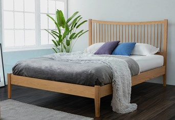 Berwick Wooden Bedframe - 4'6'' Double