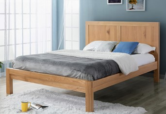 Bellevue Wooden Bedframe - 4'6'' Double