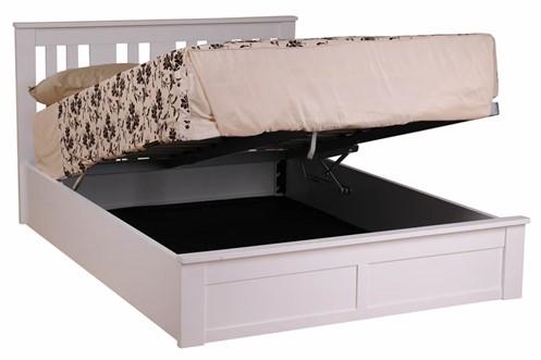 Coliseum Wooden Ottoman Bed Frame