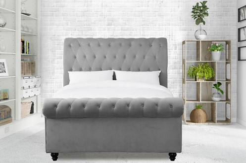 Maxine Fabric Upholstered Bed Frame