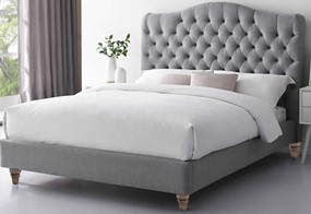 Cole Grey Upholstered Fabric Bed Frame