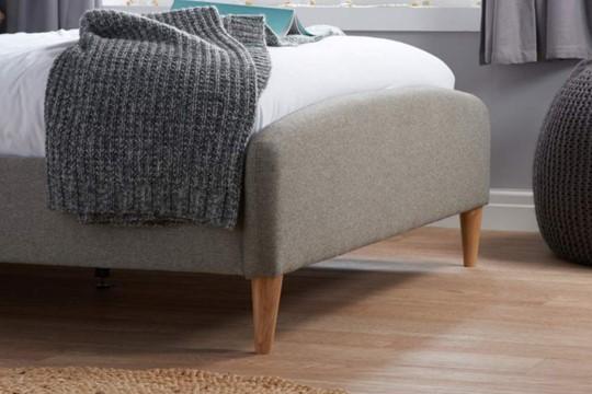 Quebec Fabric Bedfame
