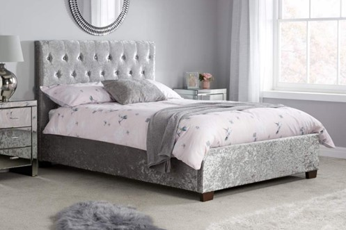 Cologne Fabric Bed