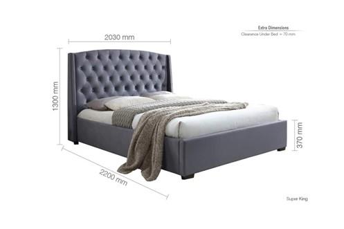 Balmoral Fabric Bedframe