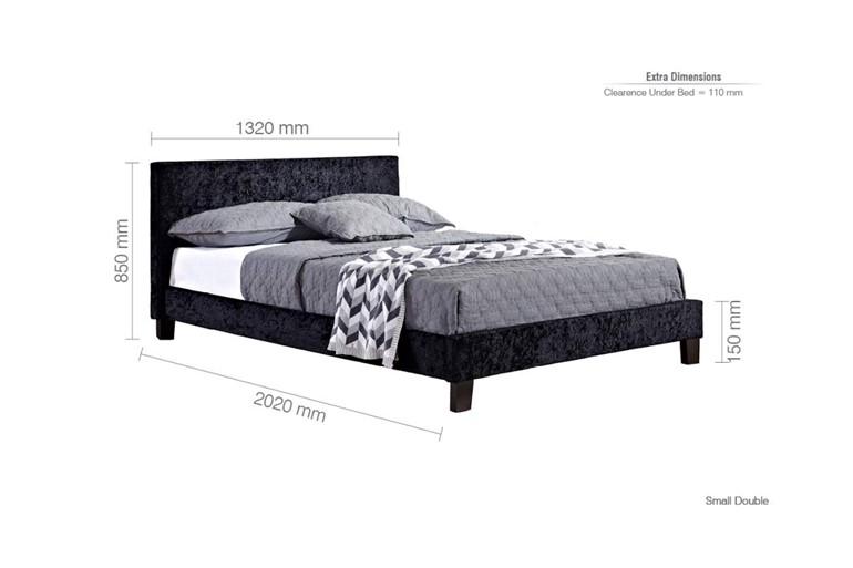 Berlin Fabric Bed