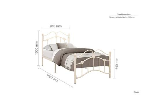 Canterbury Metal Bed