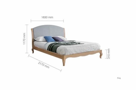 Ritz Oak Bed Frame