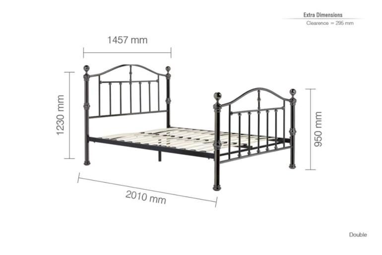 Victoria Metal Bedframe
