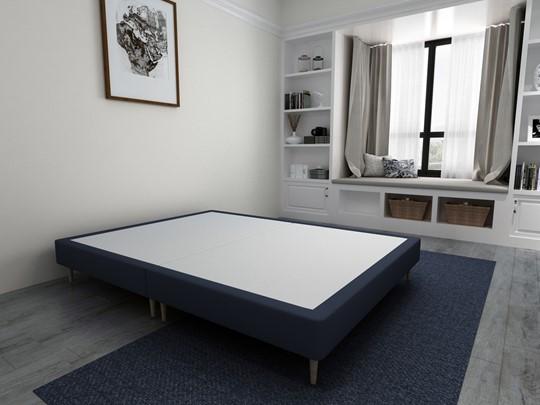 Divan Bed Base On Wooden Legs